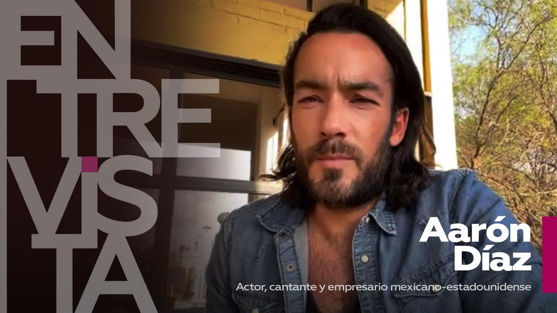 """Aarón Díaz, actor, cantante y empresario mexicano-estadounidense: """"Nunca me he ido de la televisión mexicana y siempre estaré aquí"""""""