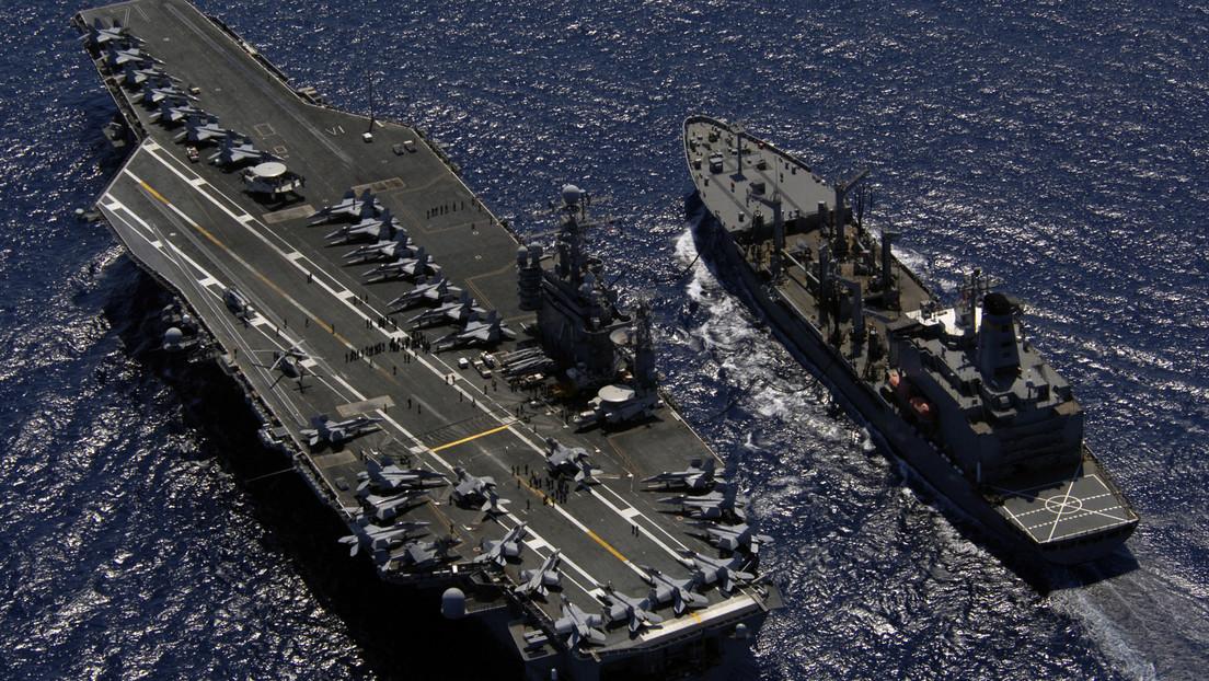 El grupo de ataque de un portaviones de EE.UU. vuelve dos meses después al disputado mar de la China Meridional