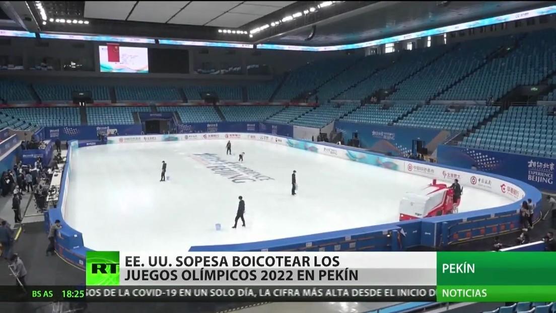 Estados Unidos considera boicotear los Juegos Olímpicos 2022 en Pekín