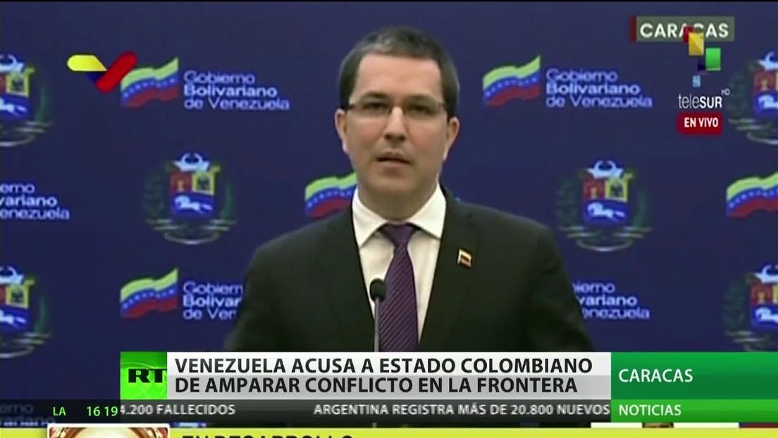 Venezuela acusa a Colombia de amparar el conflicto en la frontera entre los dos países