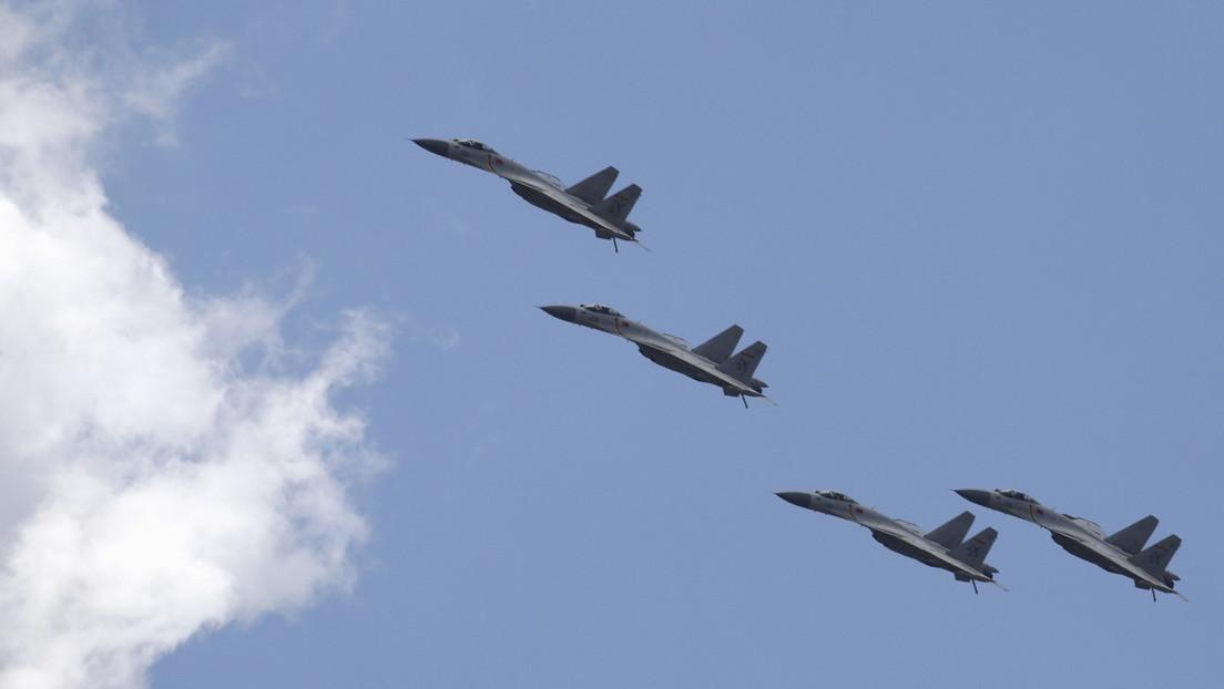 Cuatro aviones militares chinos vuelven a entrar en la zona de identificación de defensa aérea de Taiwán