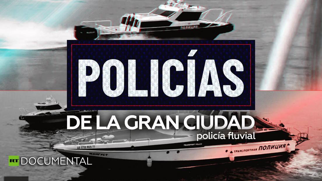 Policías de la gran ciudad: policía fluvial