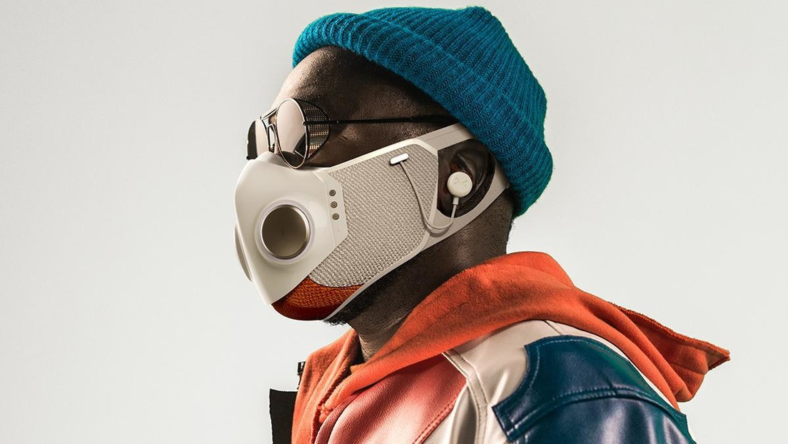 Música sí, covid no: sale al mercado una mascarilla inteligente con auriculares incorporados