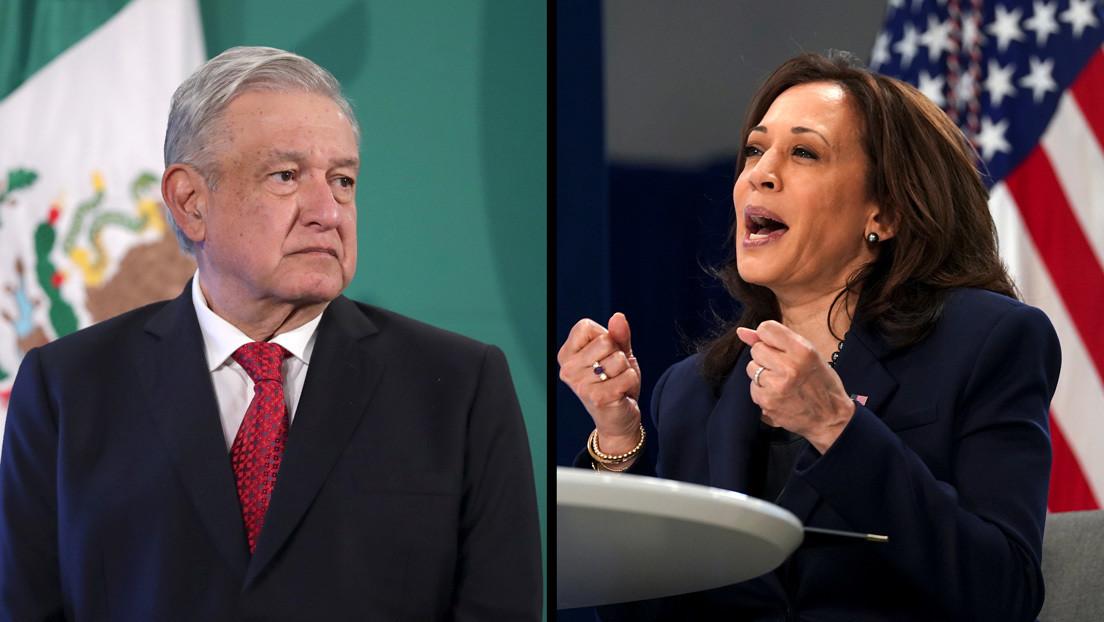 López Obrador y Kamala Harris acuerdan acciones conjuntas para proteger a los niños migrantes