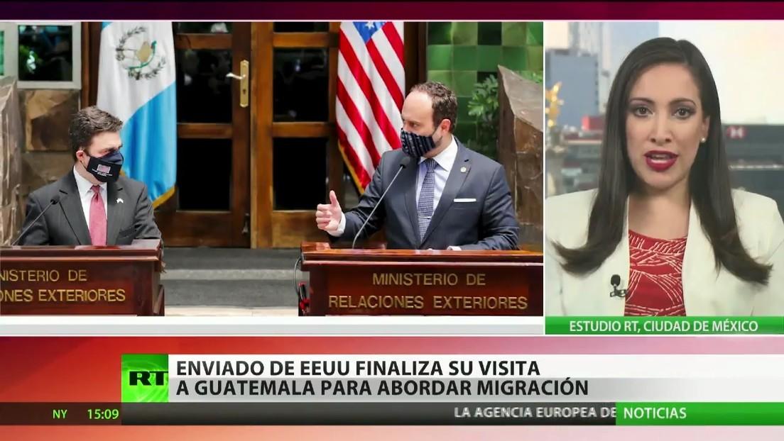 El enviado de EE.UU. finaliza su visita a Guatemala para abordar la migración