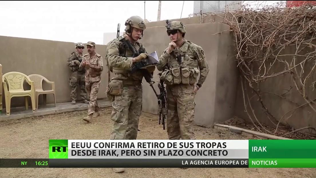 Washington y Bagdad confirman la retirada de las tropas de EE.UU. desplegadas en Irak