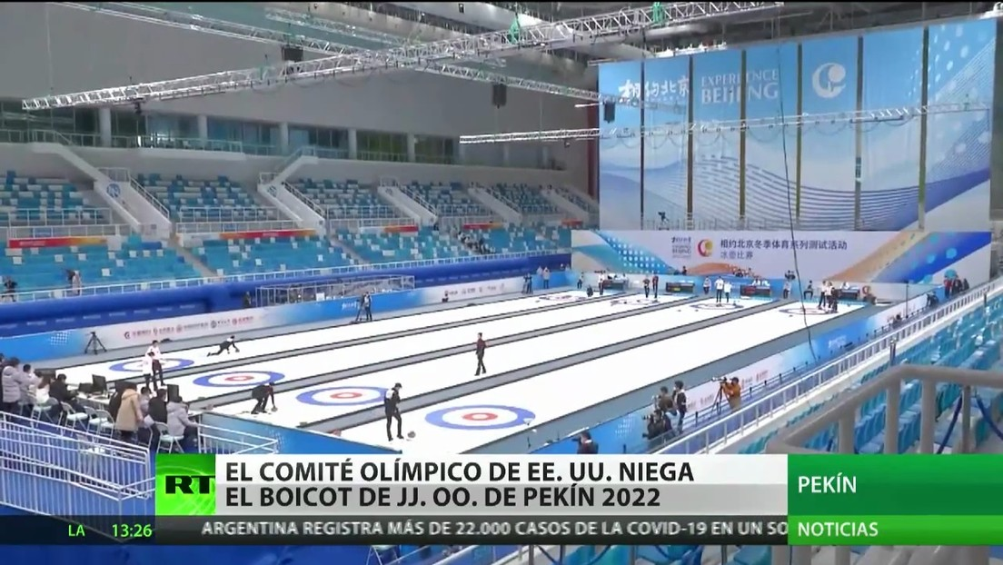 Comité Olímpico de EE.UU. rechaza el boicot a los JJ.OO. de Pekín 2022