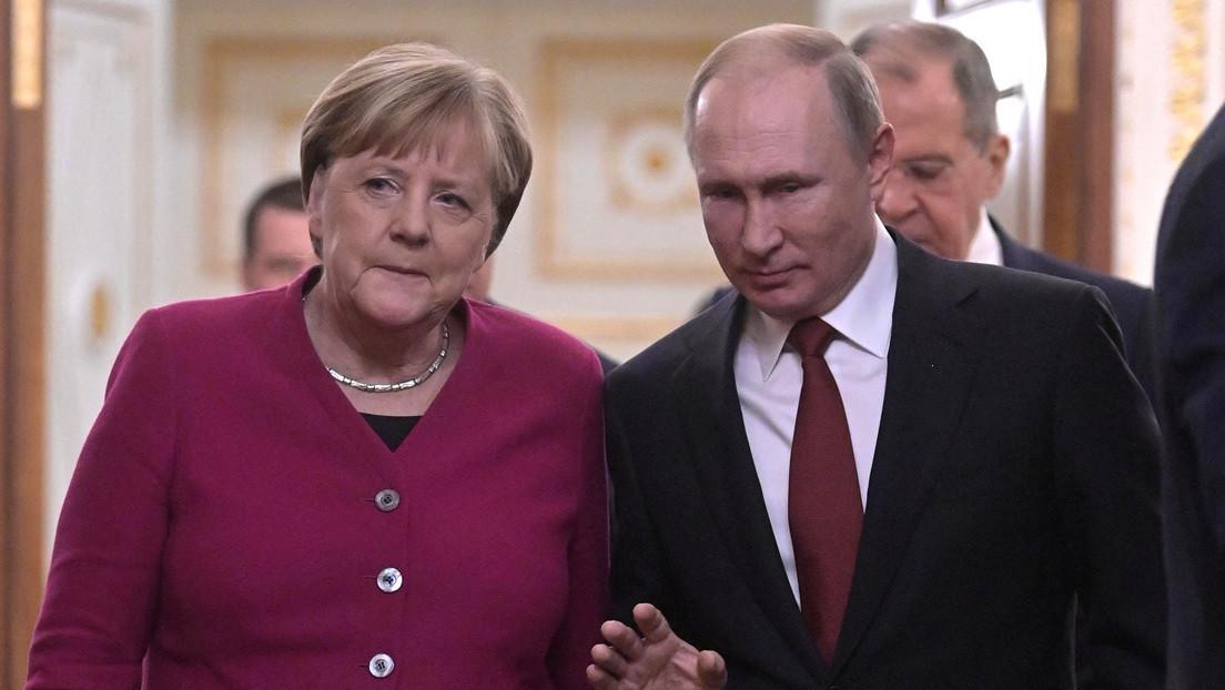 Putin advierte a Merkel de acciones provocadoras de Kiev en el este de Ucrania durante una conversación telefónica