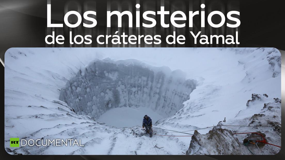 Los misterios de los cráteres de Yamal