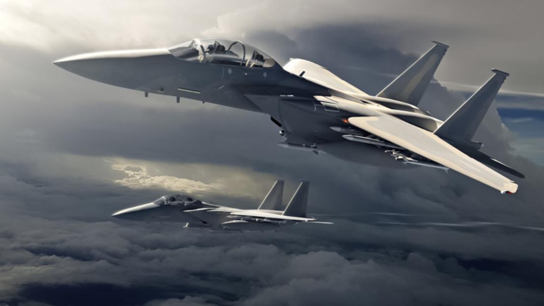 VIDEO: Presentan un nuevo caza Boeing F-15EX rebautizado como Eagle II