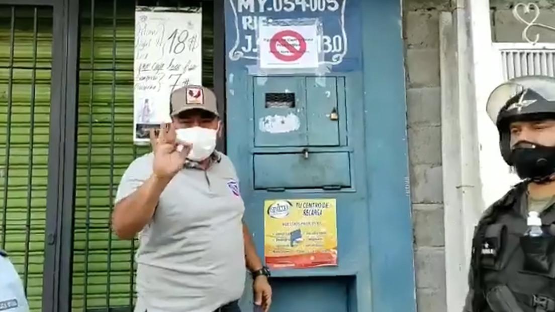 """Un alcalde venezolano señala """"macabramente"""" las casas de los pacientes con covid-19 y la Fiscalía abre una investigación penal"""