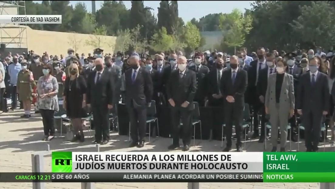 Israel recuerda a los millones de judíos muertos en el Holocausto