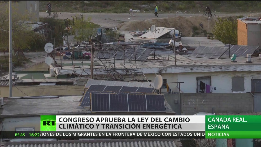 El Congreso de España aprueba la Ley de Cambio Climático y Transición Energética