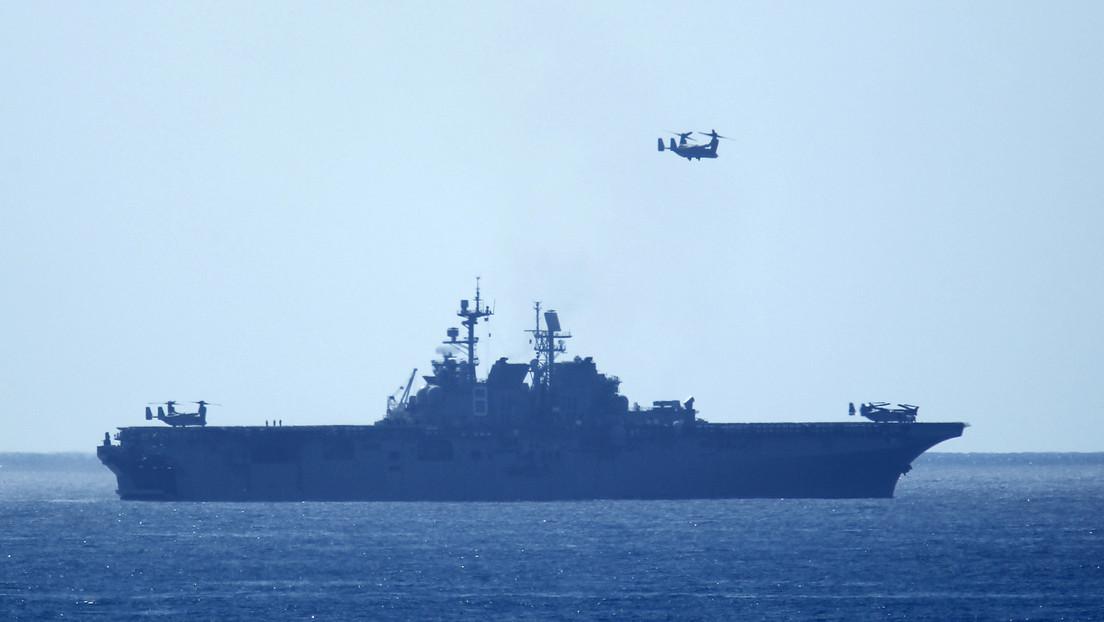 EE.UU. refuerza su presencia militar en el mar de la China Meridional tras desplegar el buque de asalto anfibio USS Makin Island