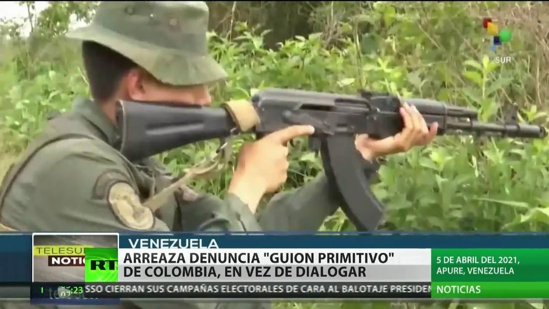 """Arreaza denuncia a Colombia por su """"guion primitivo"""" en vez de dialogar"""