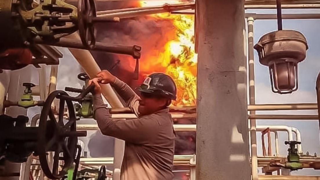 Deckar, el hombre que arriesgó su vida para evitar que un incendio en una refinería de Pemex en Veracruz se saliera de control