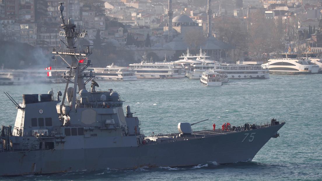 """EE.UU. mandará 2 buques de guerra al mar Negro mientras Rusia destaca que el aumento de las actividades de la OTAN """"complica la seguridad"""" en la zona"""