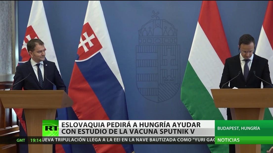 Austria considera opciones para aprobar la Sputnik V, mientras Eslovaquia planea encargar a Hungría el estudio de la vacuna rusa