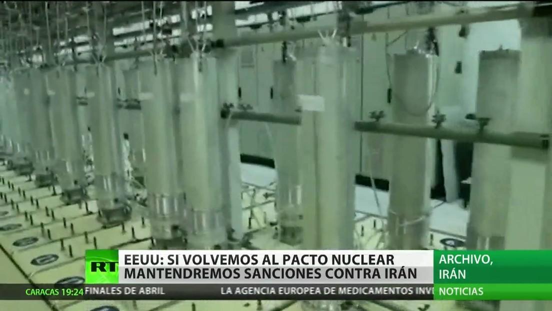 EE.UU. mantendrá sus sanciones contra Irán aunque vuelva al pacto nuclear