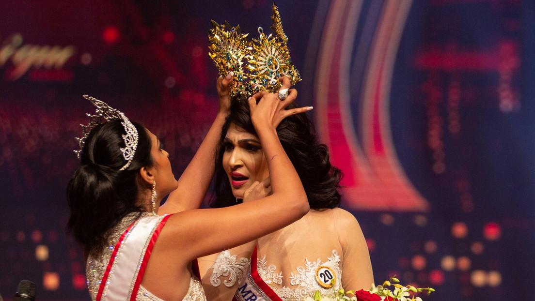 Renuncia a su título la 'Señora Mundo' que fue detenida tras arrebatarle la corona a Mrs Sri Lanka