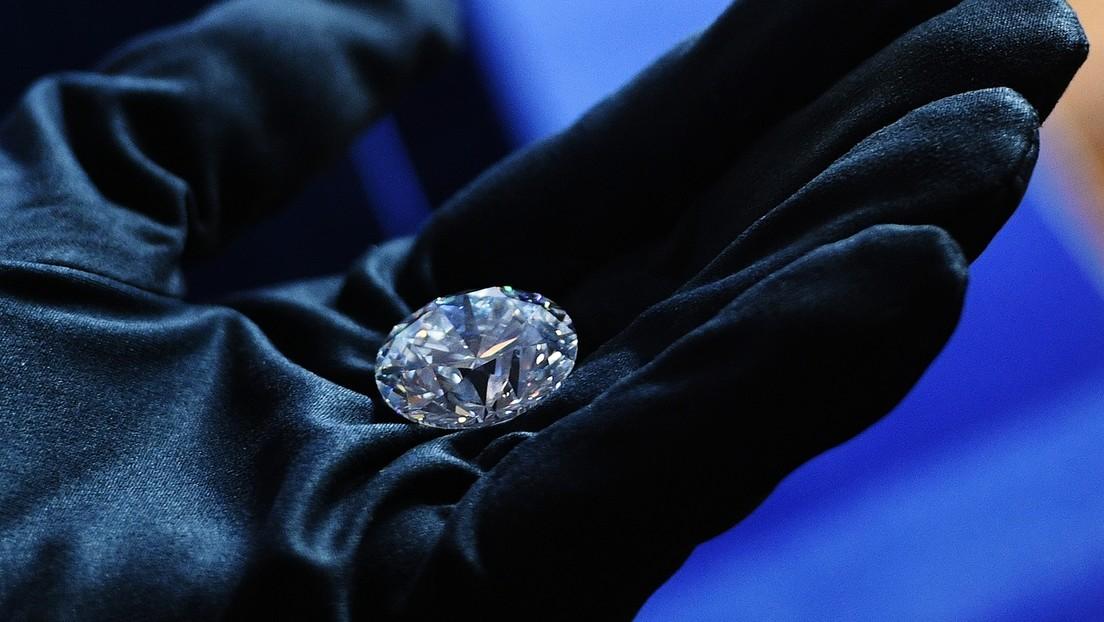 La minera rusa Alrosa registra por segundo mes consecutivo ventas de diamantes pulidos tres veces mayores que en 2020