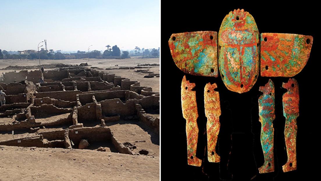 Al menos 10 años de trabajo serán necesarios para descubrir la totalidad de la 'ciudad dorada' usada por Tutankamon, señala experto