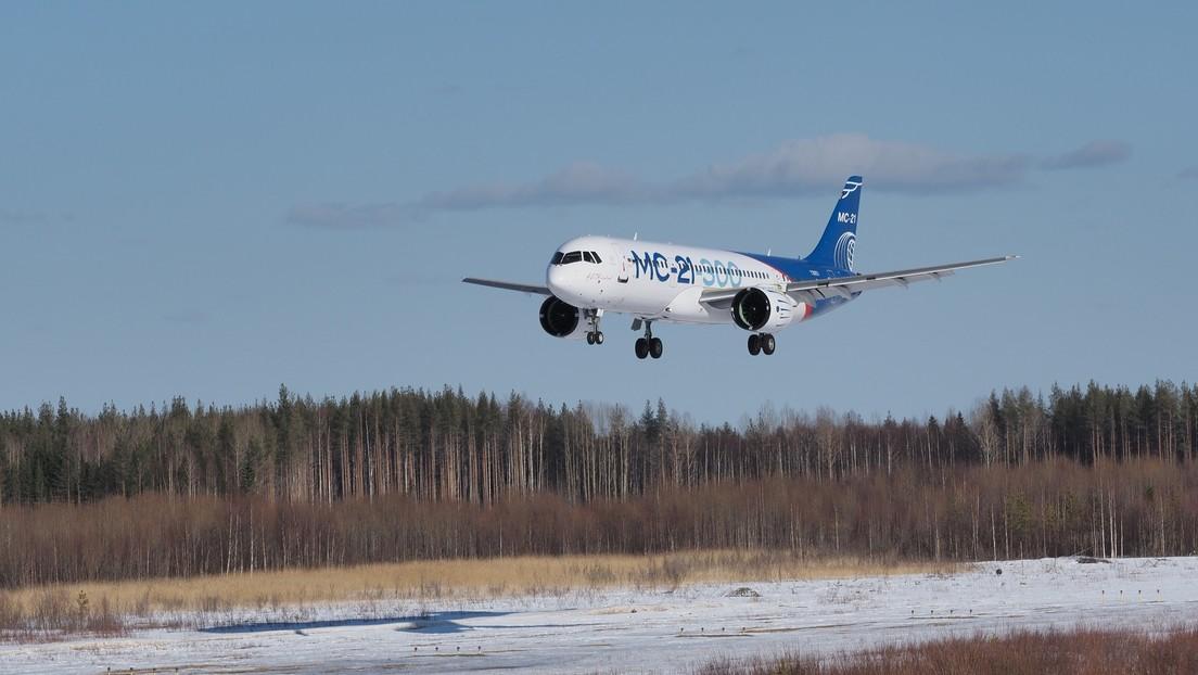 VIDEO: Un nuevo avión de pasajeros ruso supera pruebas en adversas condiciones de frío