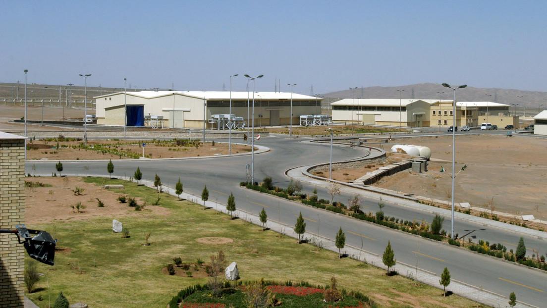 """Se registra """"un incidente"""" de electricidad en la planta iraní de Natanz, horas después de poner en marcha casi 200 centrifugadoras nucleares"""
