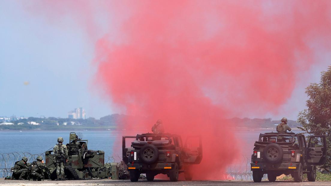 Taiwán planea realizar ejercicios con fuego real en unas islas en el mar de la China Meridional