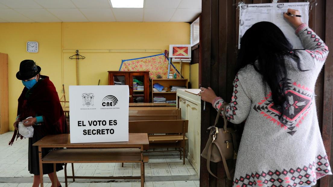 Andrés Arauz y Guillermo Lasso se enfrentan en la segunda vuelta de las elecciones en Ecuador