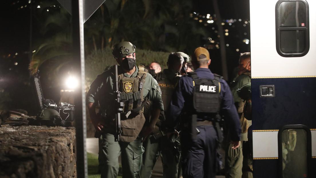 Un militar estadounidense  se atrinchera más de 10 horas en un cuarto de hotel, les dispara a unos guardias y se suicida