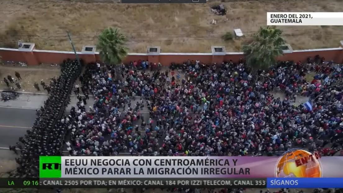 EE.UU. negocia con Centroamérica y México el tema de la inmigración irregular