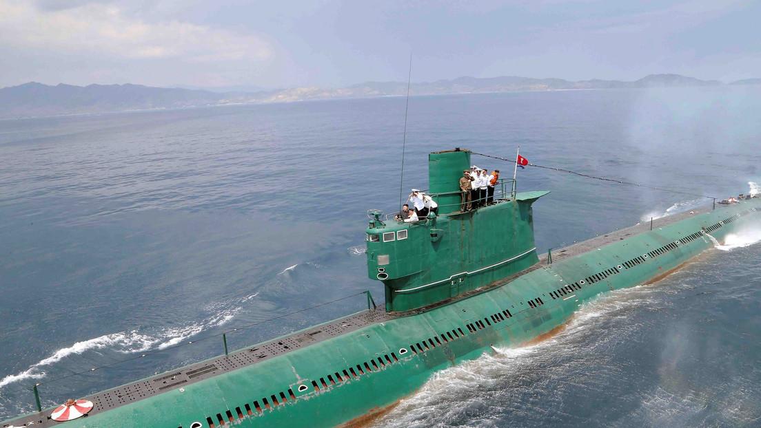Corea del Norte estaría lista para desplegar un nuevo submarino de 3.000 toneladas capaz de lanzar misiles balísticos