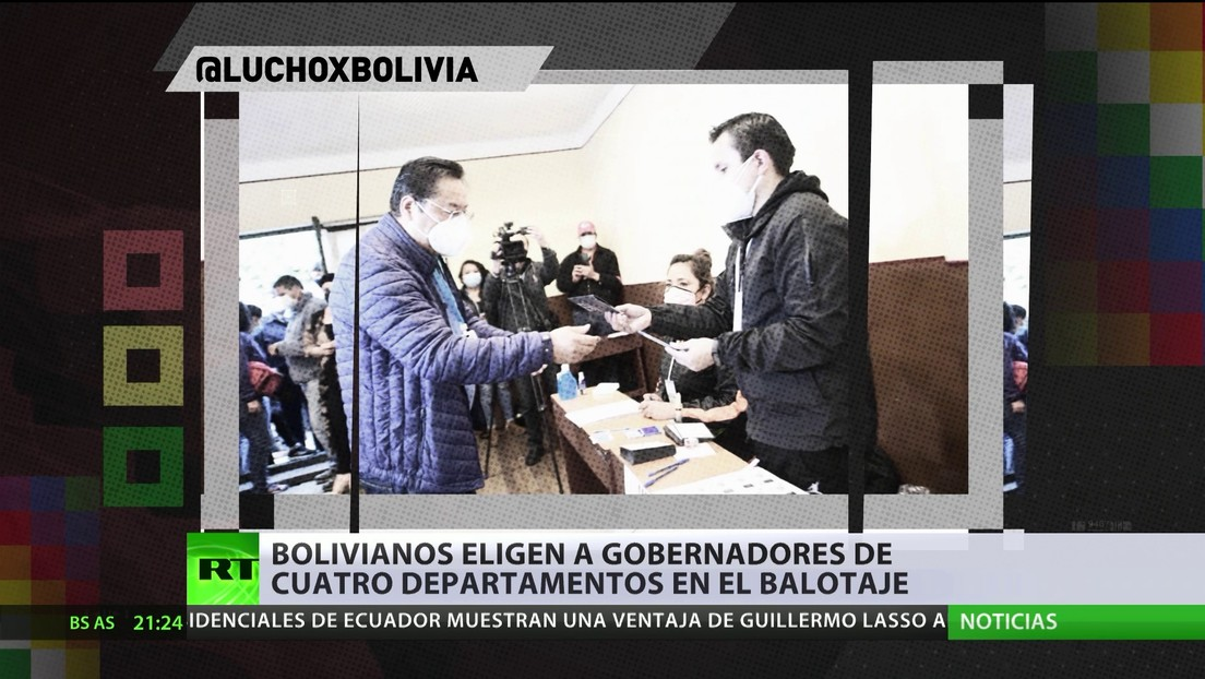 Bolivianos eligen a gobernadores de cuatro departamentos en el balotaje
