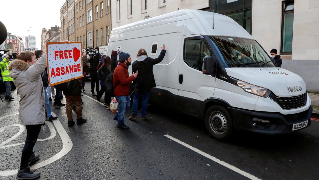 """""""El periodismo no es un crimen"""": Manifestaciones en varias partes del mundo en apoyo a Julian Assange, a dos años de su arresto"""