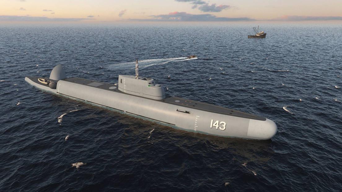 Rusia presenta un proyecto de un buque guardacostas que puede 'bucear'