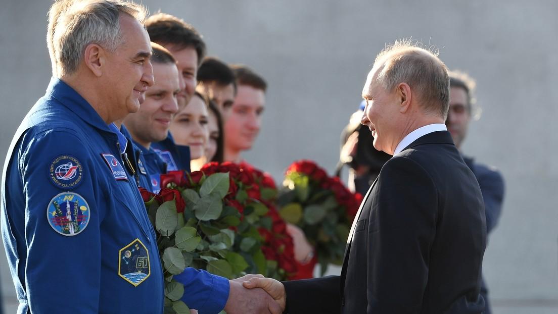 """Putin: """"Rusia debe mantener con dignidad el estatus de una de las principales potencias nucleares y espaciales"""""""
