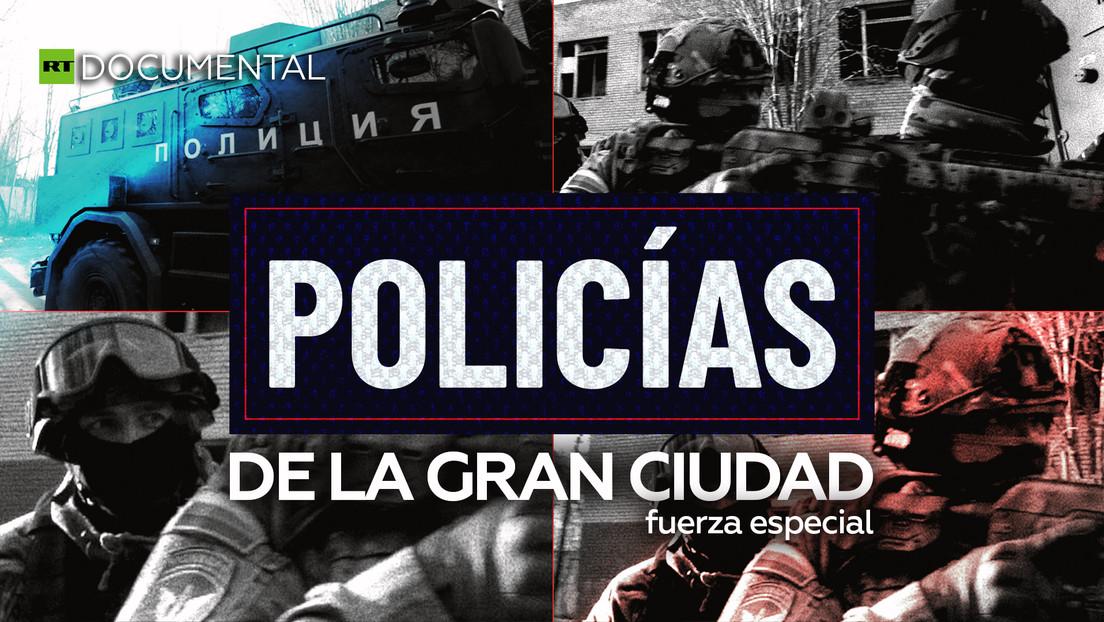 Policías de la gran ciudad: fuerza especial