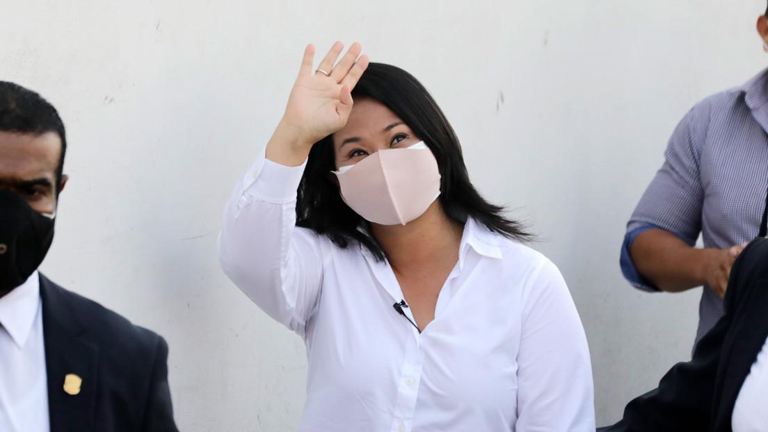 Keiko Fujimori disputaría la segunda vuelta de las presidenciales de Perú frente al izquierdista Pedro Castillo