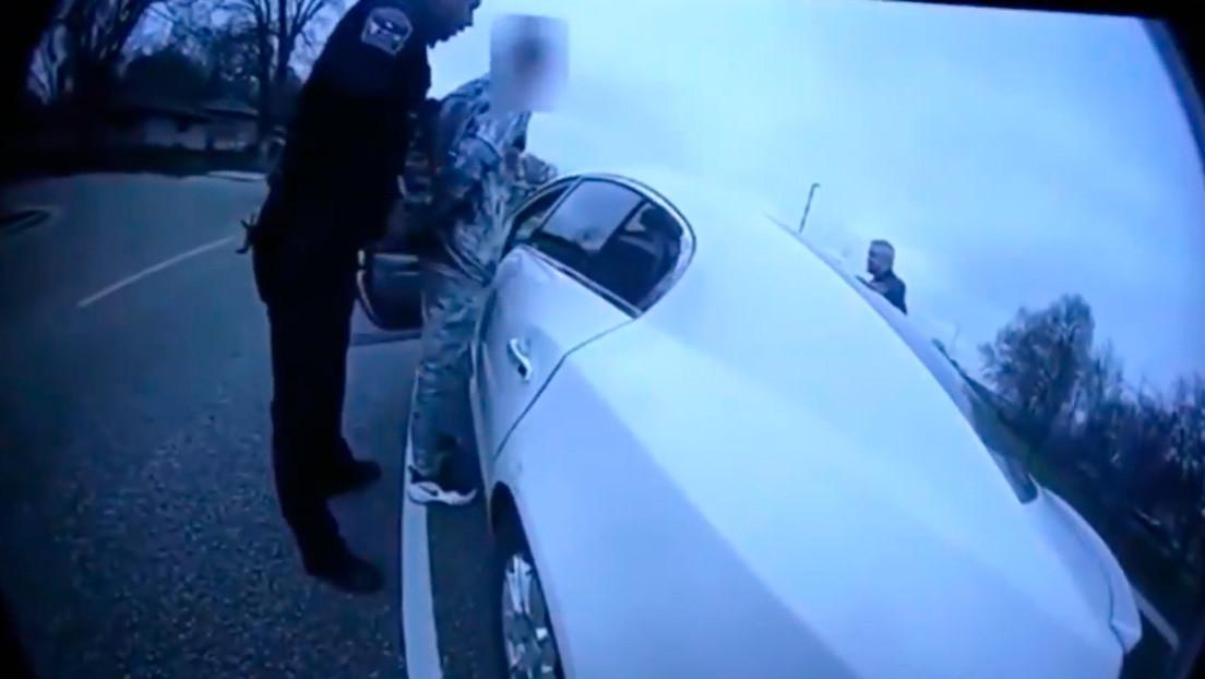 Publican las imágenes de la cámara corporal de la policía que mató al afroamericano Daunte Wright en EE.UU.
