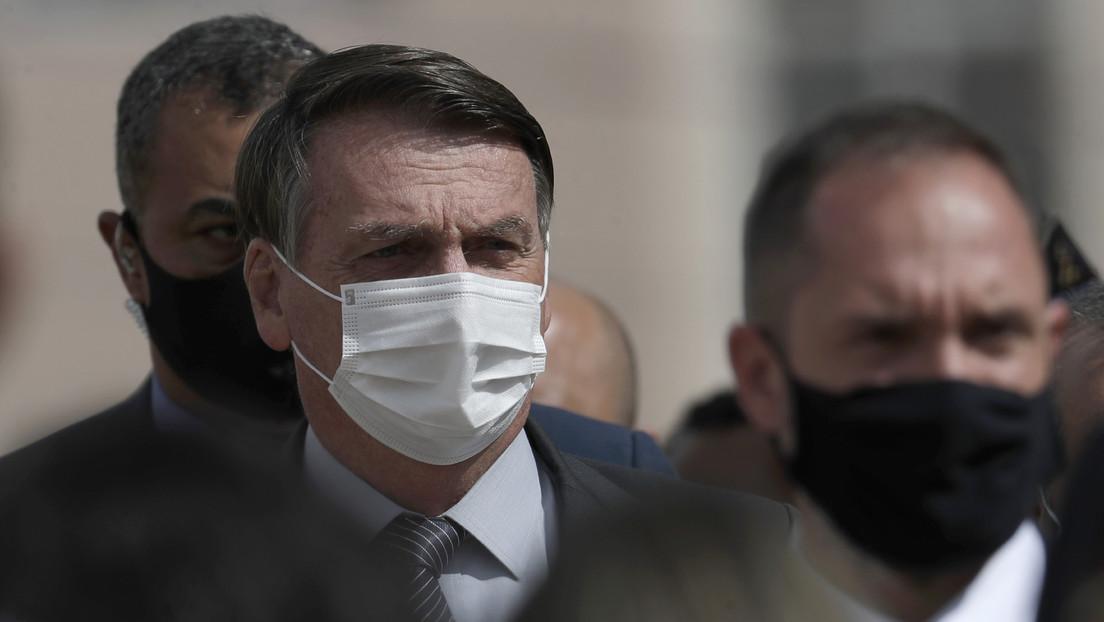 Polémica en Brasil por la publicación de un audio entre Bolsonaro y un senador sobre una investigación relacionada a la gestión de la pandemia