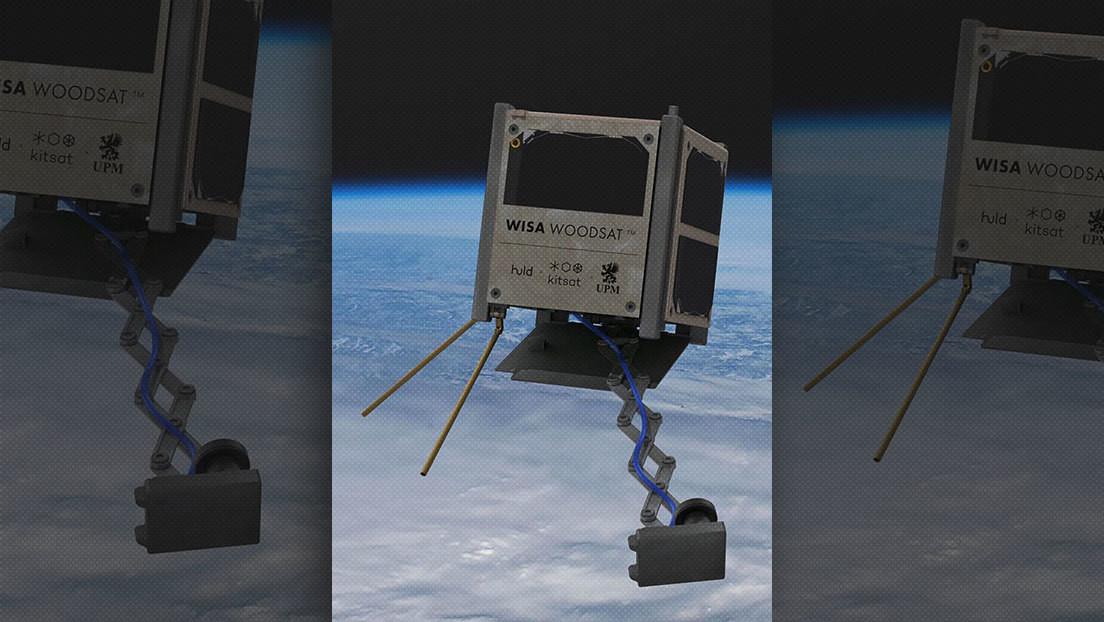 Finlandia se prepara para lanzar a órbita el primer satélite de madera