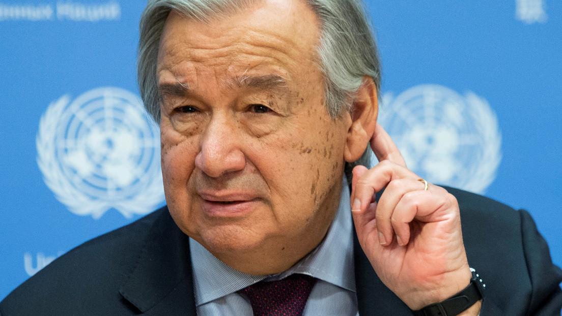 """El secretario general de la ONU aboga por un """"impuesto de solidaridad"""" para los ricos que se beneficiaron de la pandemia"""