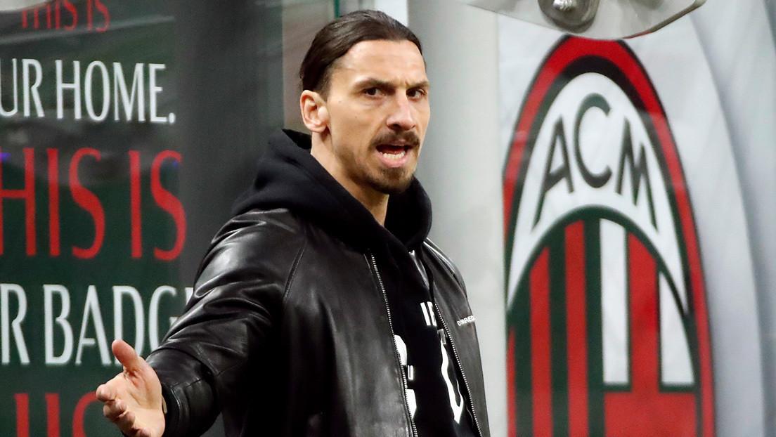 Polémica en 'zona roja': Ibrahimovic fue visto en un restaurante de Milán que debía estar cerrado por la pandemia (FOTOS)