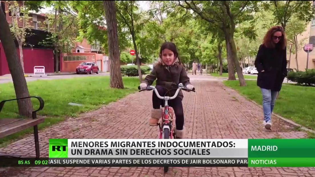 España: Menores migrantes indocumentados, un drama sin derechos sociales