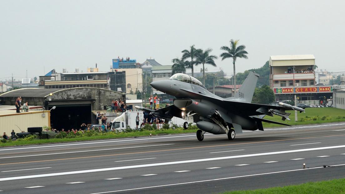China despliega el mayor número de aviones de combate jamás registrado en un ejercicio militar cerca de Taiwán