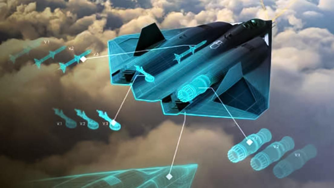 La Fuerza Aérea de EE.UU. presenta una imagen conceptual de su caza de sexta generación