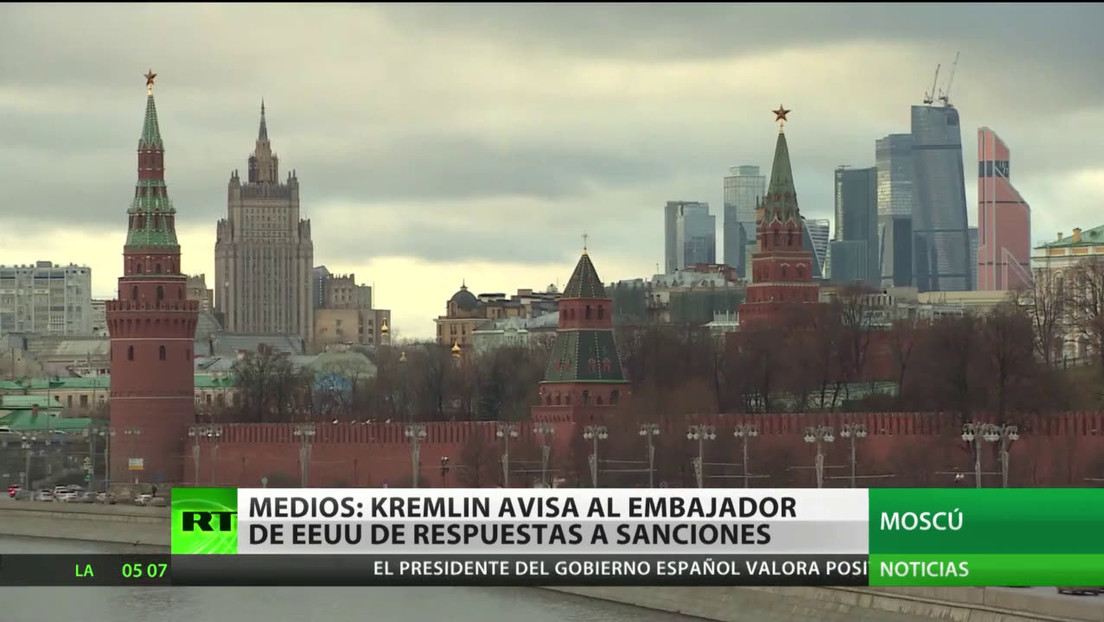 Medios: Moscú advierte al embajador de EE.UU. de respuestas más firmes ante futuras sanciones