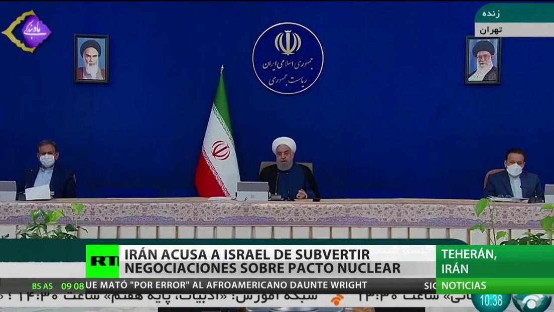 Irán culpa a Israel de subvertir las negociaciones sobre el pacto nuclear
