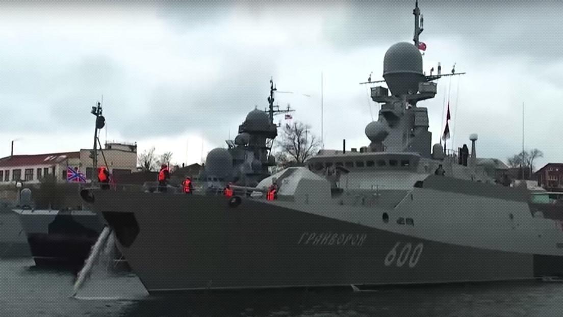 VIDEO: Rusia ordena ejercicios navales en el mar Negro ante la inminente llegada a la región de dos buques de guerra de EE.UU.